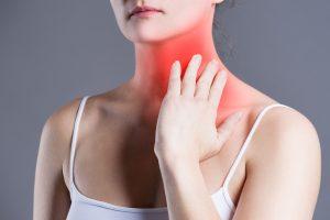 el peligro de cáncer de garganta